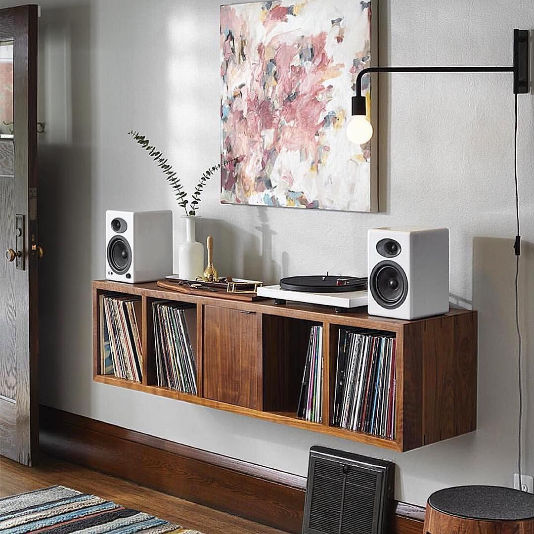 Joshgrubbs For Vfrecordcollections Thehomeofvinyl Record Room House And Home Magazine Turntable Furniture
