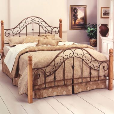 delaney metal bed or headboard found at @jcpenney | amherst home