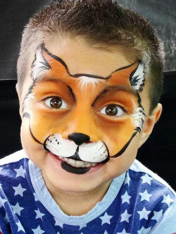face paint inspiration fox paint it up pinterest kinderschminken katze schminken und. Black Bedroom Furniture Sets. Home Design Ideas