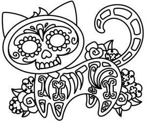 Gato Muerto Urban Threads Desenhos Para Bordar Desenhos Para
