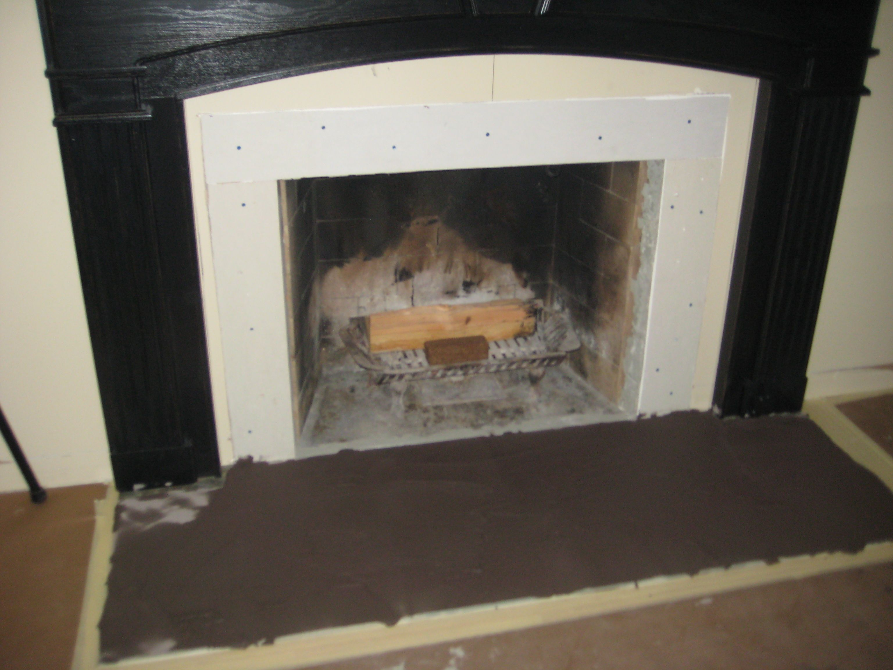 Fireplace surrounds and Mantle