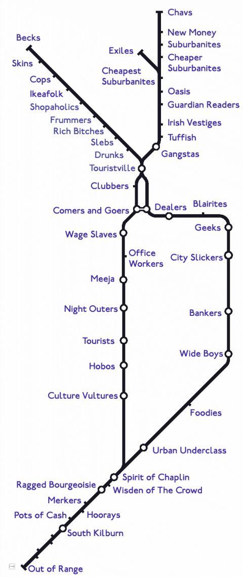 City Slicker London Map City Slickers Data