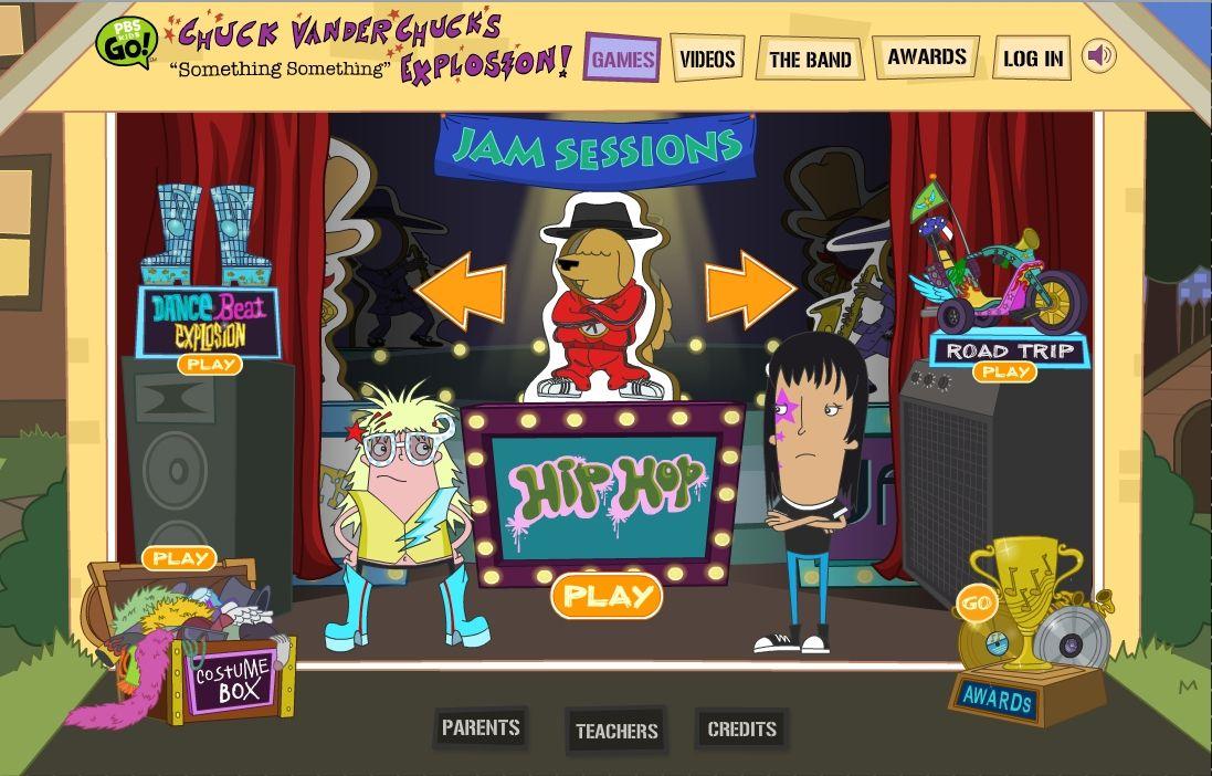 PBS music site
