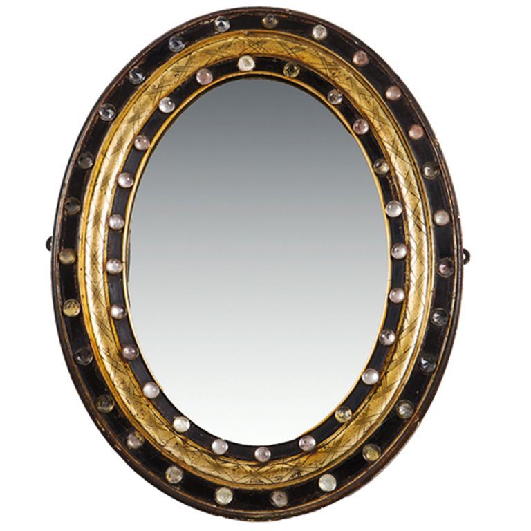 Bathroom Mirror Galway galway wall mirror | oval mirror, studs and wall mirrors