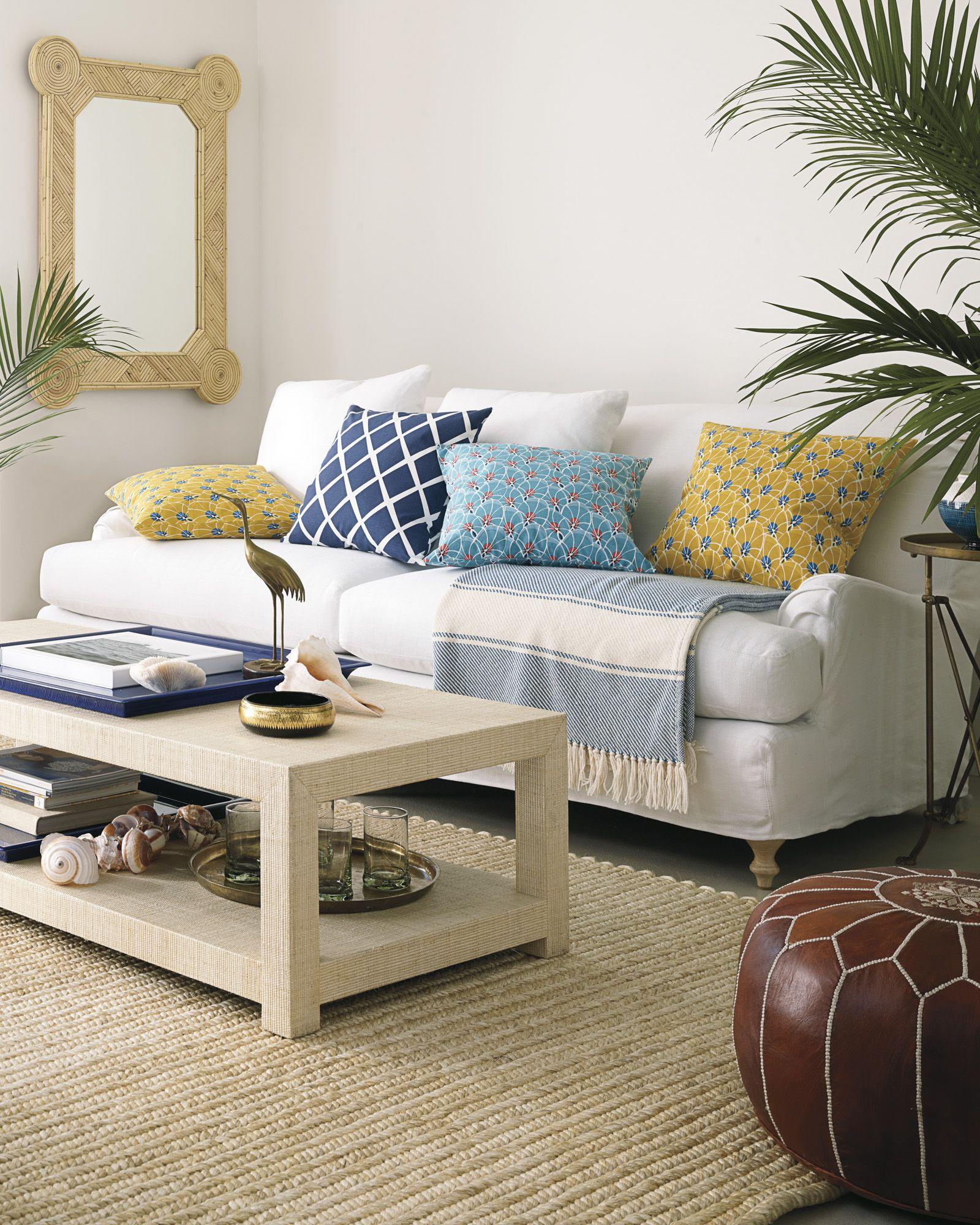 blake raffia rectangular coffee table project ld sofa table rh pinterest com