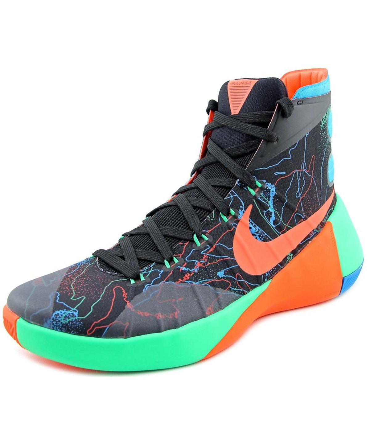 best service 1f7e7 09fce NIKE NIKE HYPERDUNK 2015 MEN ROUND TOE CANVAS BLACK BASKETBALL SHOE .  nike   shoes  sneakers