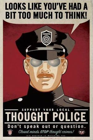 """Wishing a double-plus-good 109th birthday to George Orwell! The iconic author of the cautionary tales """"Animal Farm"""" and """"1984"""" has provoked thought among generations of classical liberals. Orwell was born on this day in 1903. Click on the picture above to hear Christopher Hitchens and Russ Roberts discuss why Orwell matters more than ever today."""