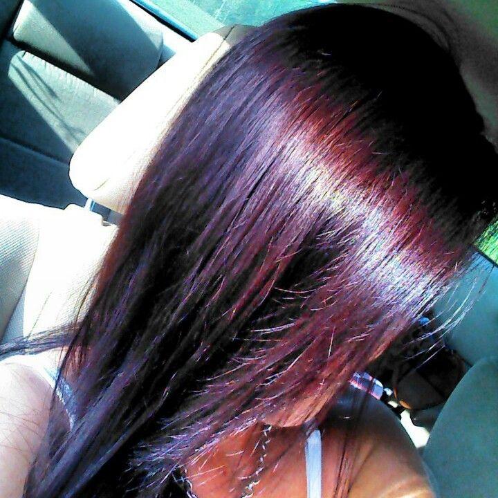 Park Art|My WordPress Blog_Darkest Plum Brown Hair Color