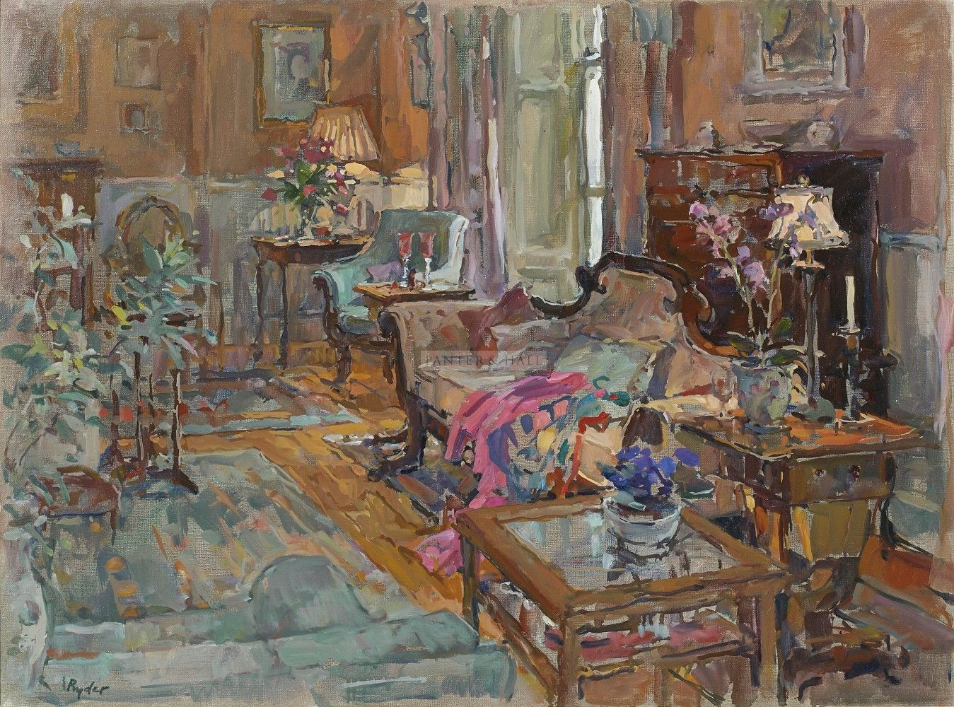 Susan Ryder Interior Portraits Art Classic Paintings