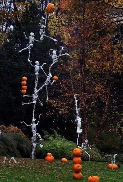 Halloween yard Halloweeeeen clown and carnival halloween - pinterest halloween yard decor