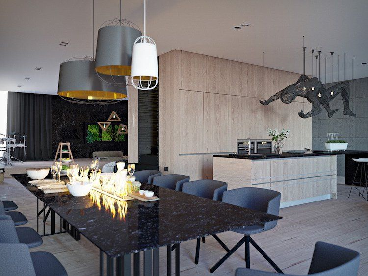 Le marbre noir en décoration intérieure - où l\'utiliser et à quoi l ...
