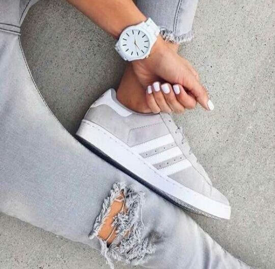 Adidas Shoes For Girls All White