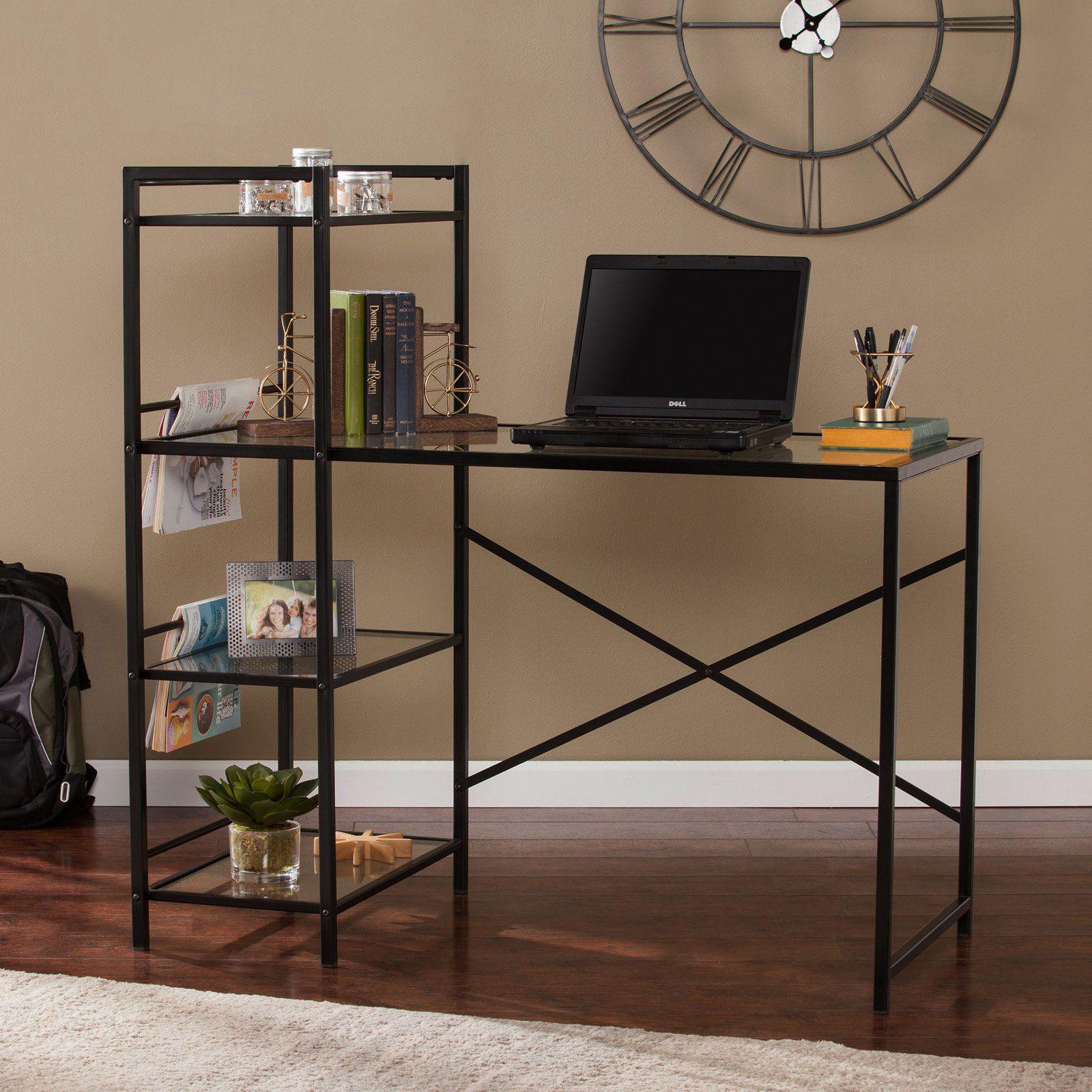 Finest Black Desk Lamp Walmart To Refresh Your Home Home Office Furniture Black Desk Desk Design