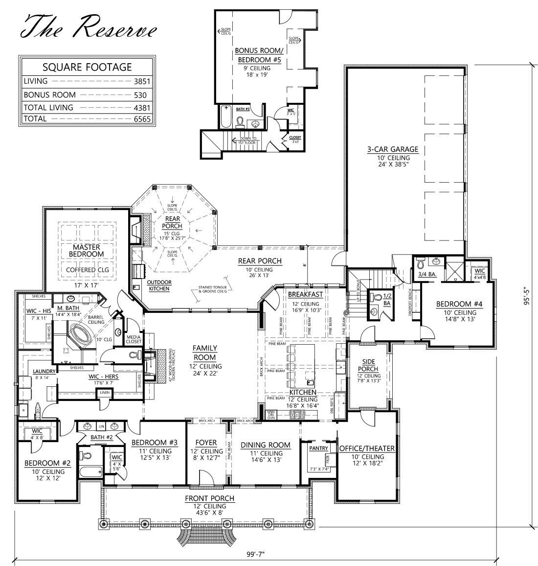 Madden Home Design The Reserve Louisiana Style House Plan 5 Bedrooms 4 5 Baths Bonus Room Of Madden Home Design Acadian House Plans Southern House Plans