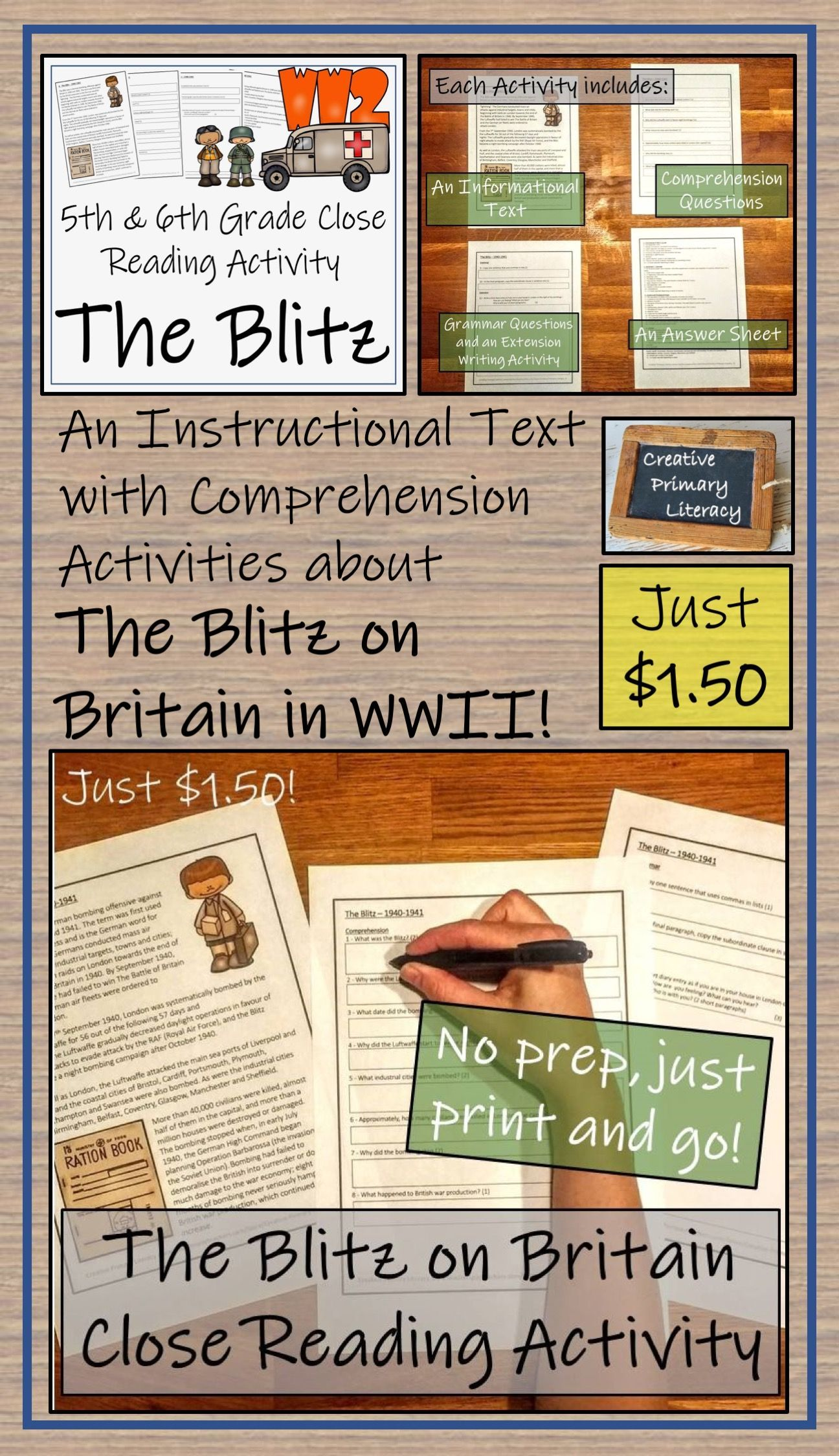 The Blitz On Britain World War Ii