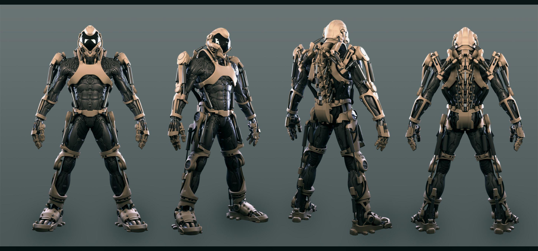 finished super soldier exoskeleton 1 by avitus12 on deviantart exo pinterest soldiers. Black Bedroom Furniture Sets. Home Design Ideas