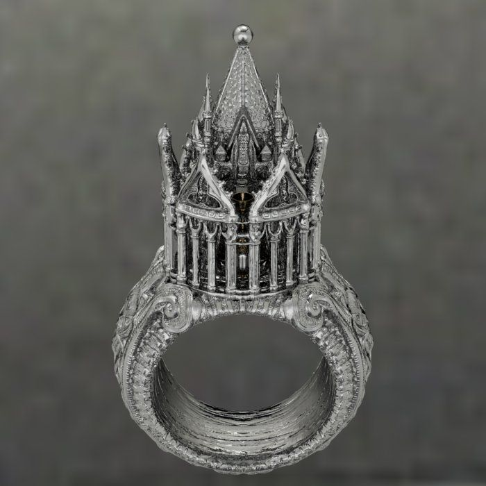Old-Fashioned Jewish Wedding Ring--the use of a wedding ring in a Jewish ceremony began in the 7th century. ...
