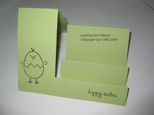 Easter Card Template More  Card Ideas    Easter Card