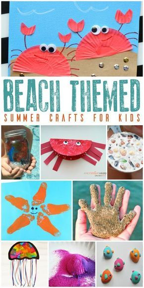 Summer Beach Themed Crafts for Kids