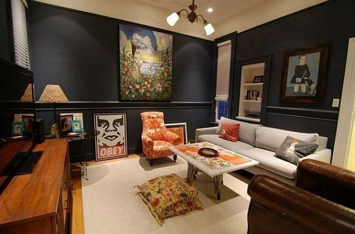 Farben für Wohnzimmer in Orange 80 Wohnideen! Wohnzimmer Ideen