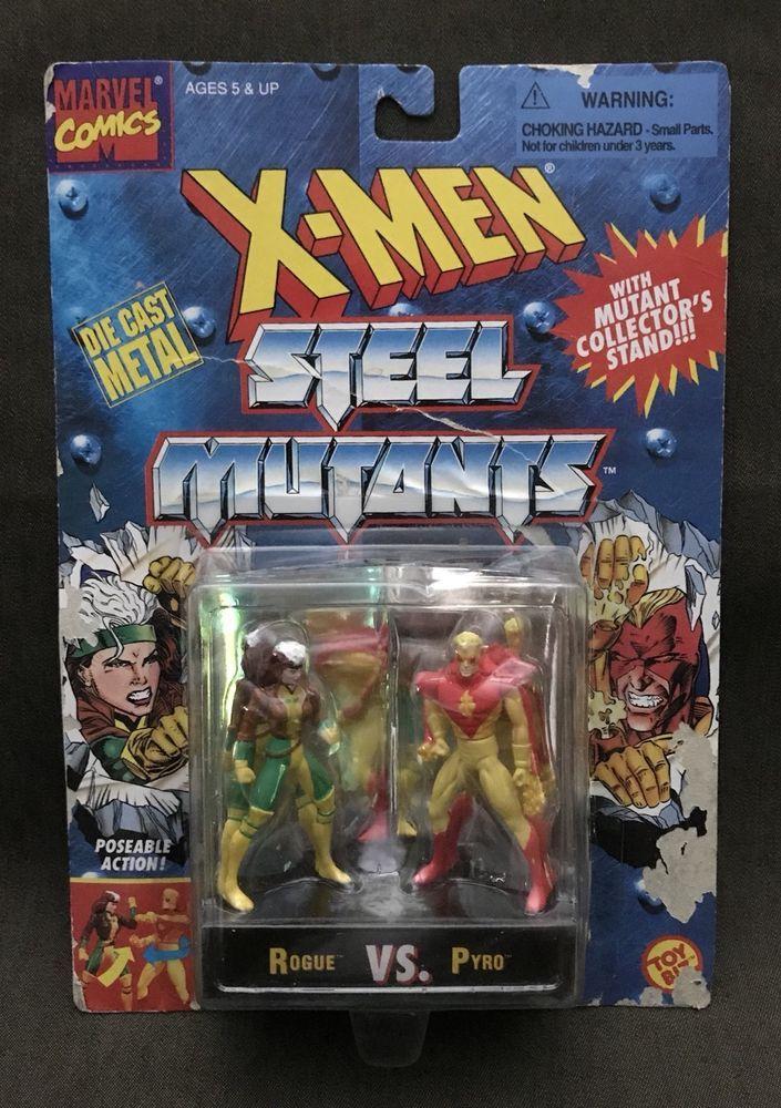 NIB 1994 XMen STEEL MUTANTS Die Cast Metal Figures by
