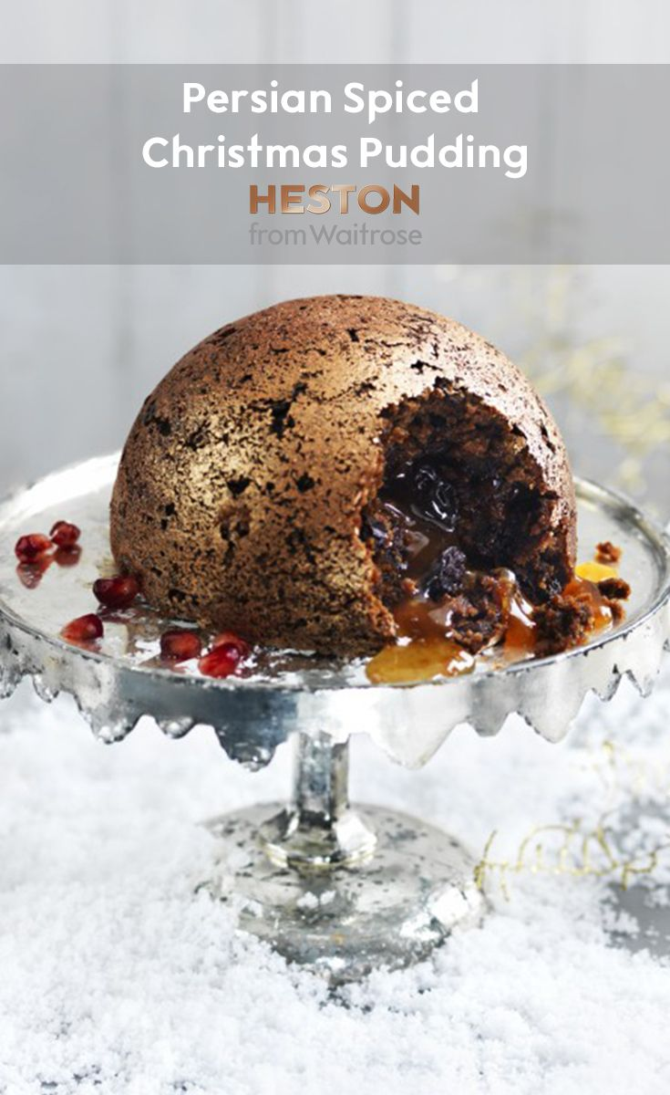 Heston from Waitrose Persian Spiced Christmas pudding
