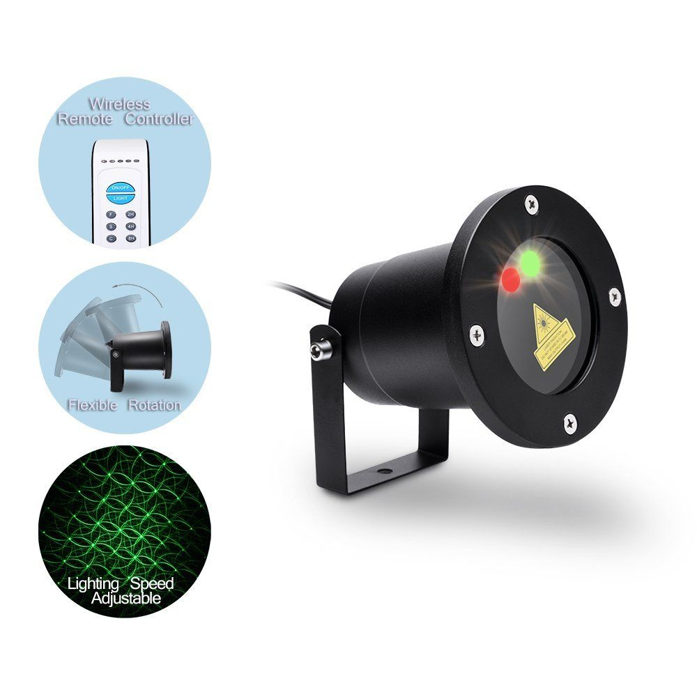 MICTUNING Multi-patterns Christmas Light Projector Star Show ...