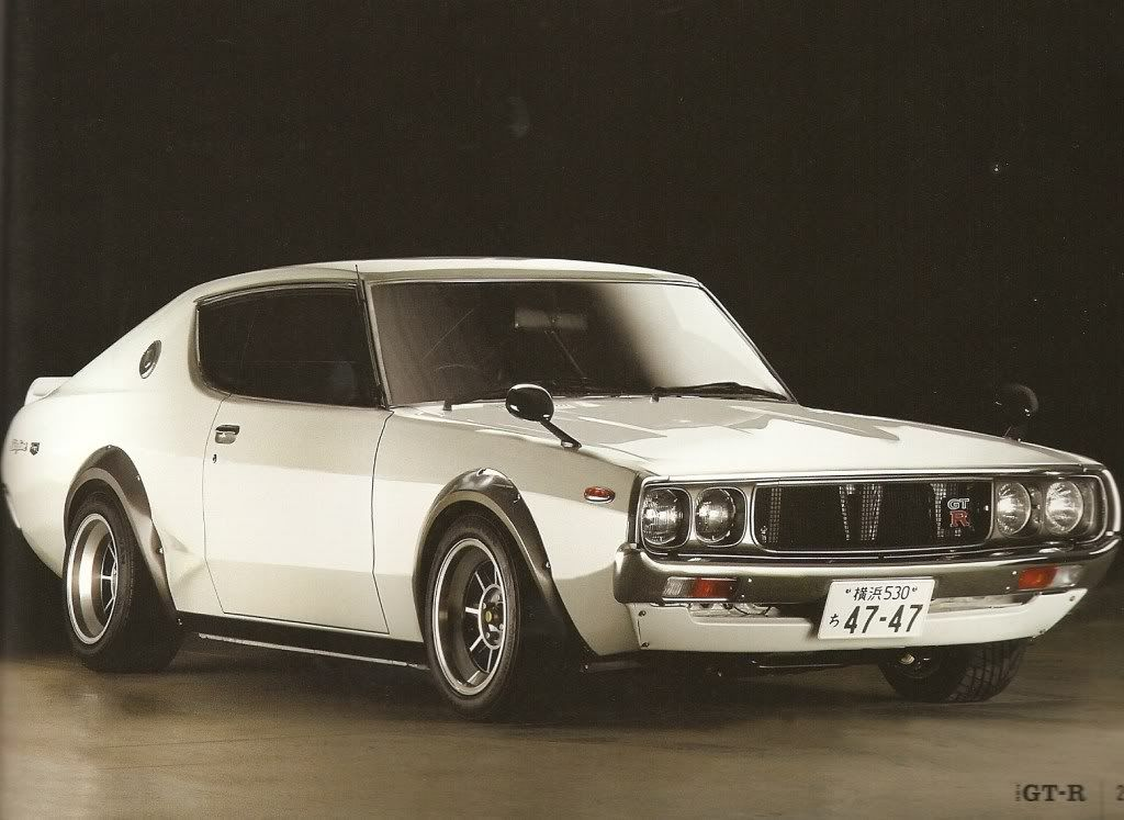1973 Nissan Skyline GTR seriously the parts ill chop to have ...