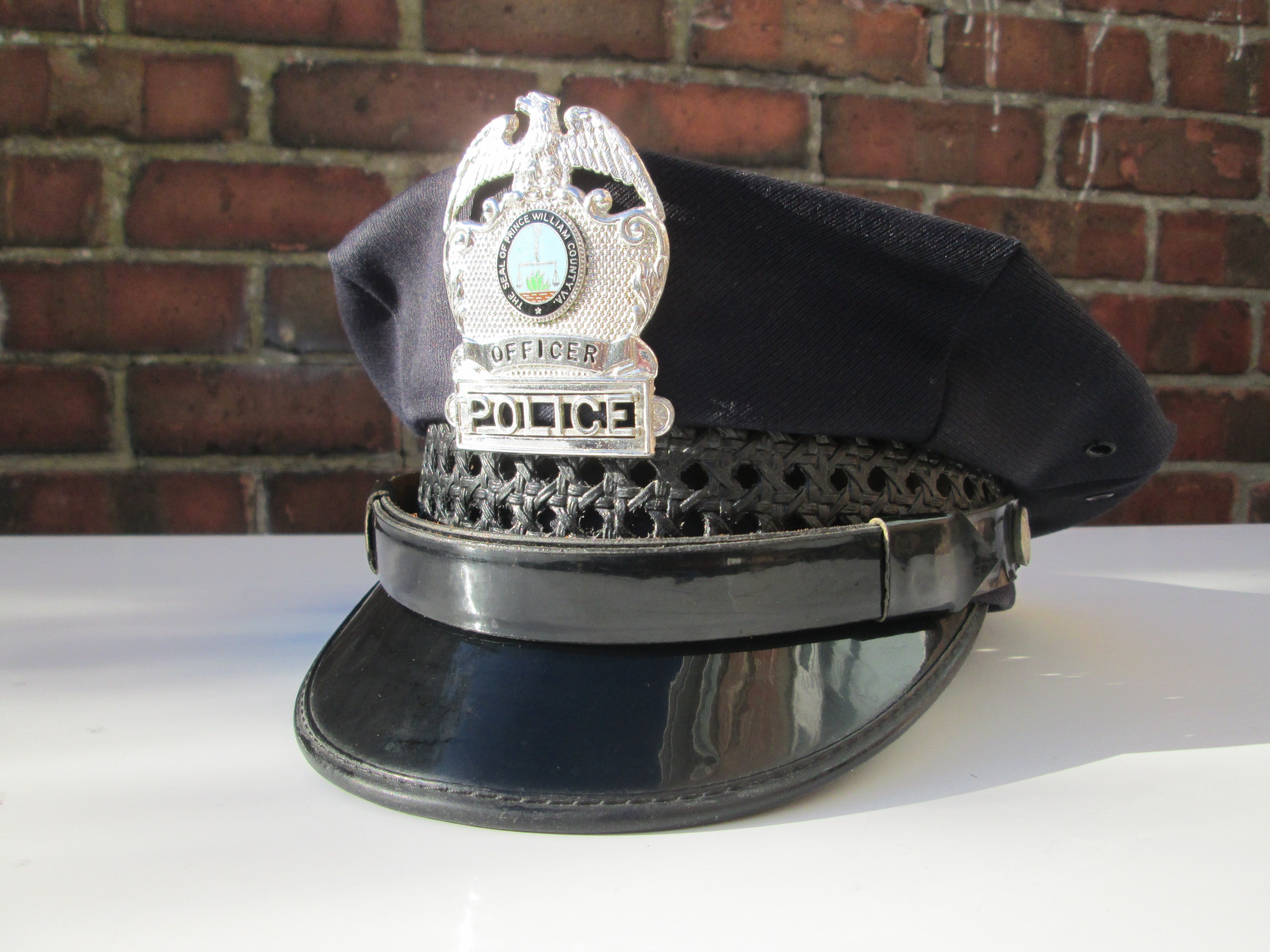 Prince William County Police Hat Police Hat Unique Items Products Mid Century Vintage