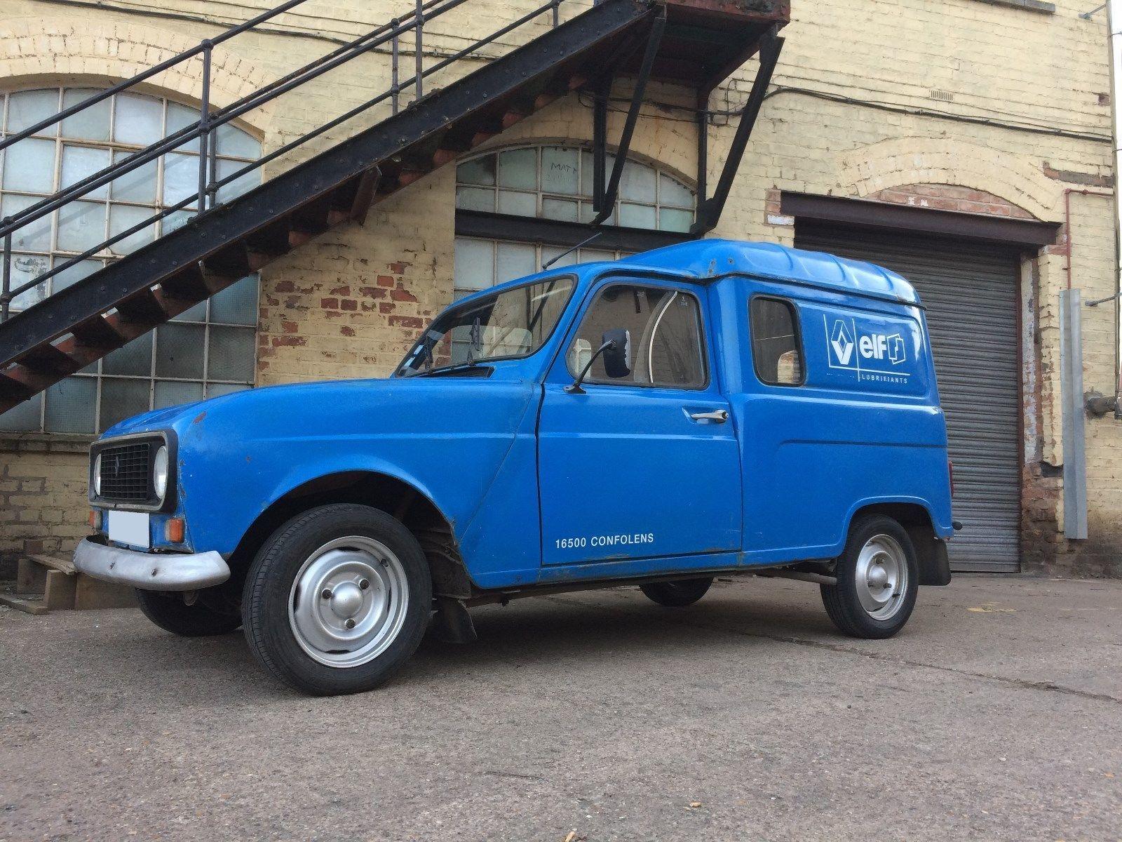 1986 Renault 4 Van - French LHD - UK Registered - MOT 2019 - Nice ...