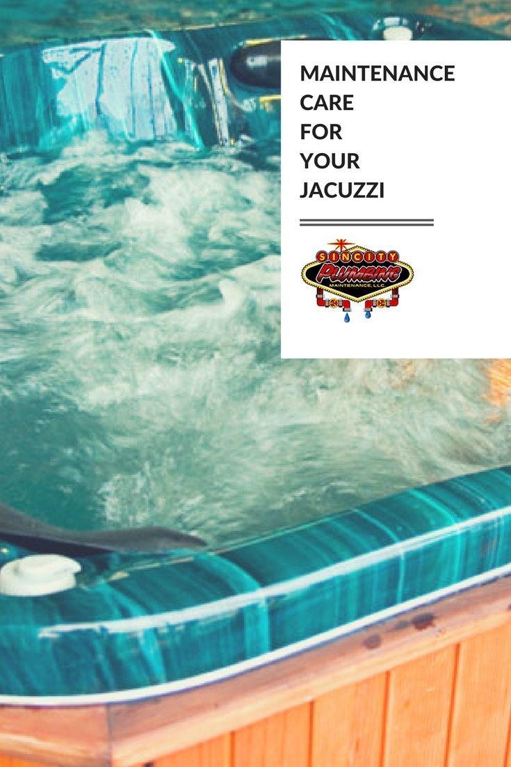 Maintenance Care For your Jacuzzi | Success City HOME | Pinterest