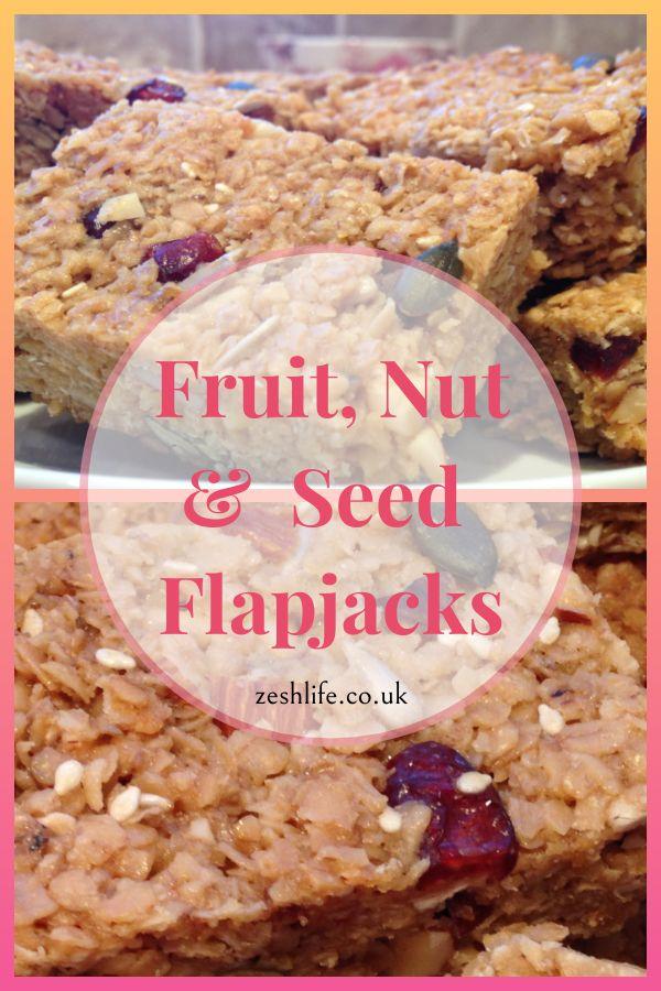 47 Recipe Tasty Fruity Flapjacks: Fruit, Nut & Seed Flapjacks