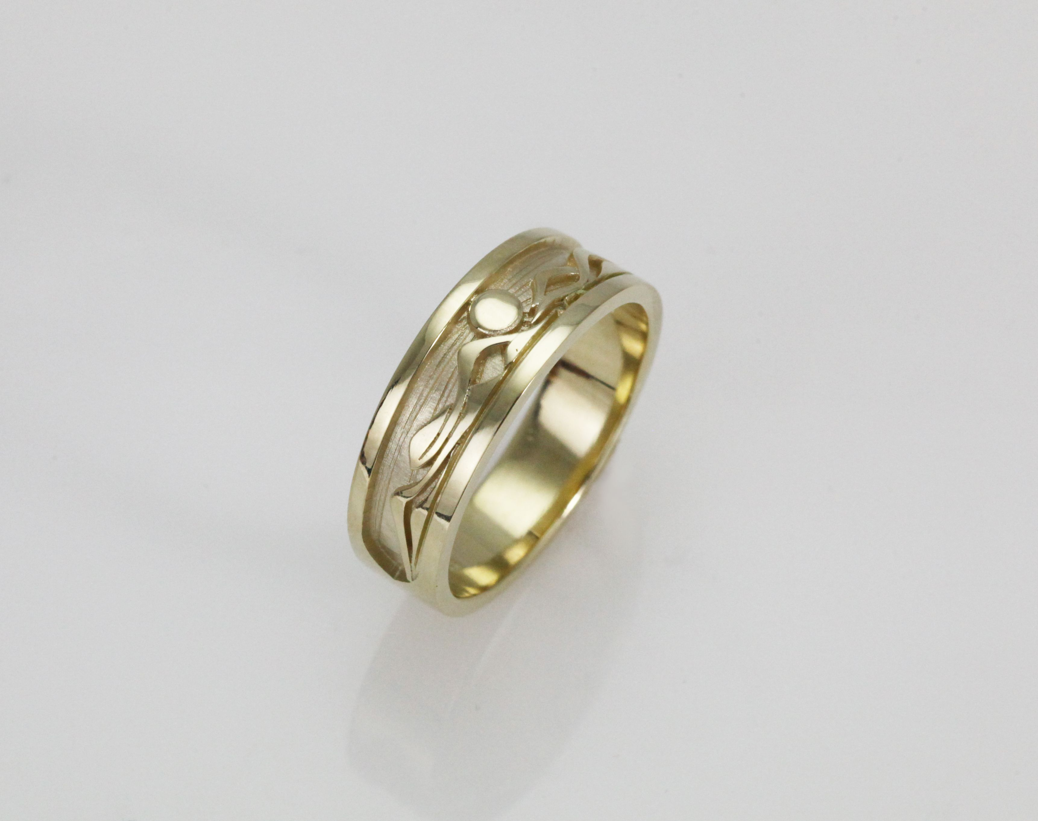 Wide Mountain Band | Mountain ring | Pinterest | Anniversary bands ...