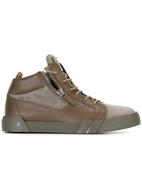 d86fc846ed54 GIUSEPPE ZANOTTI The Shark 5.0 Mid-Top Sneakers.  giuseppezanotti  shoes   sneakers