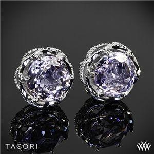 Tacori SE10513 Blushing Rose Amethyst Earrings in Sterling Silver