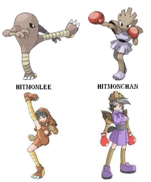 Pin on Pokemon Anime Girls  Hitmonlee Gijinka Female