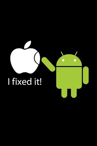 Hahaha For Those Of U Who Have A Iphone Galaxy S3 Wallpaper Samsung Galaxy Wallpaper Android Wallpaper