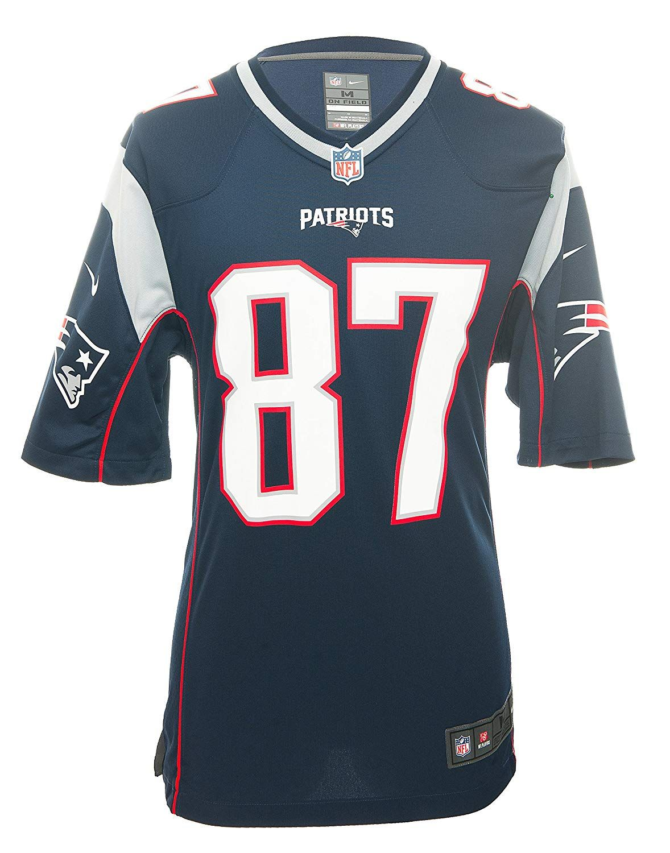 78aa7ef14 Amazon.com   NIKE New England Patriots Rob Gronkowski Game Jersey Mens    Sports   Outdoors