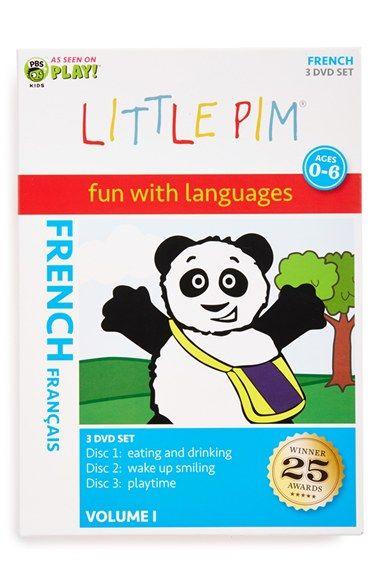 Toddler Little Pim 'Fun with Languages: French Volume 1' DVD Box Set