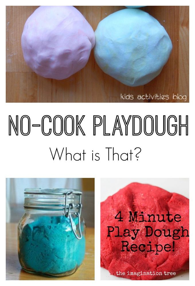 No Cook Playdough Science Lab (With images) | Cooked ...
