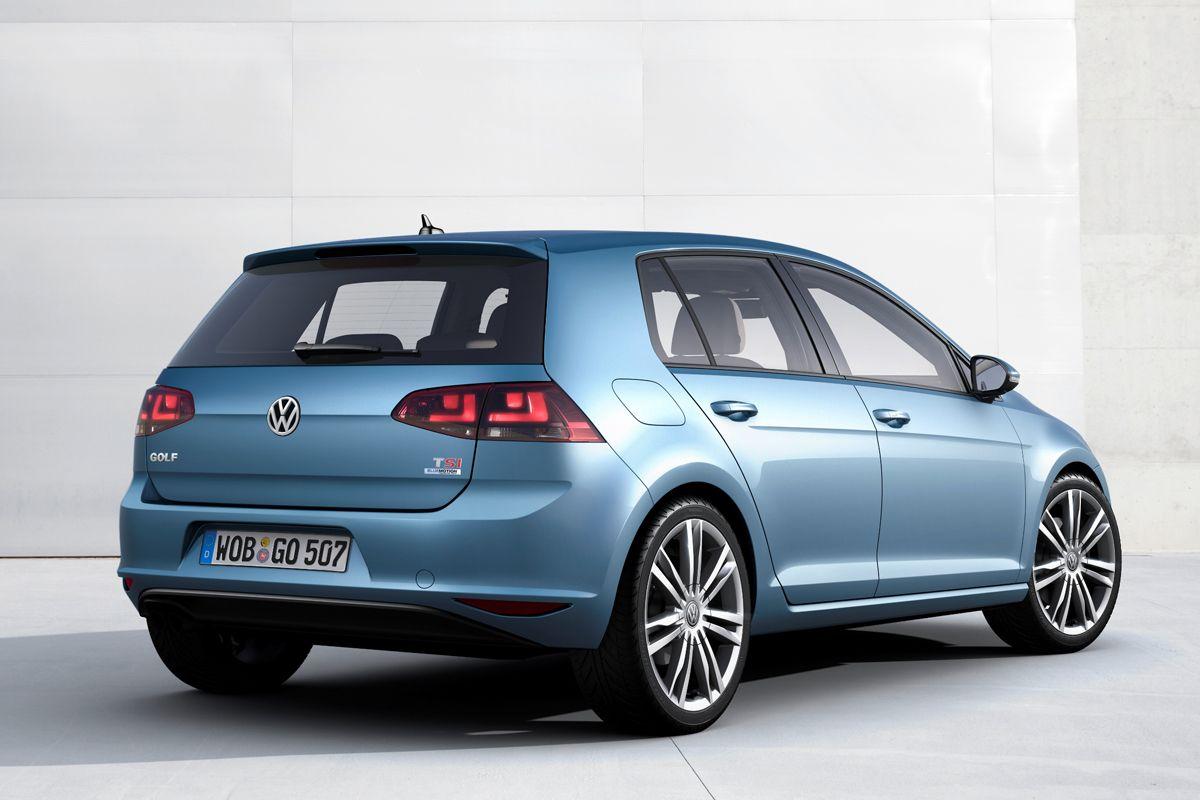Volkswagen Golf VII (back side)