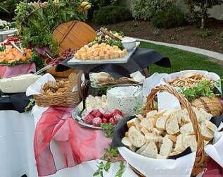 Secrets to Great Backyard Weddings | Diy wedding food ...