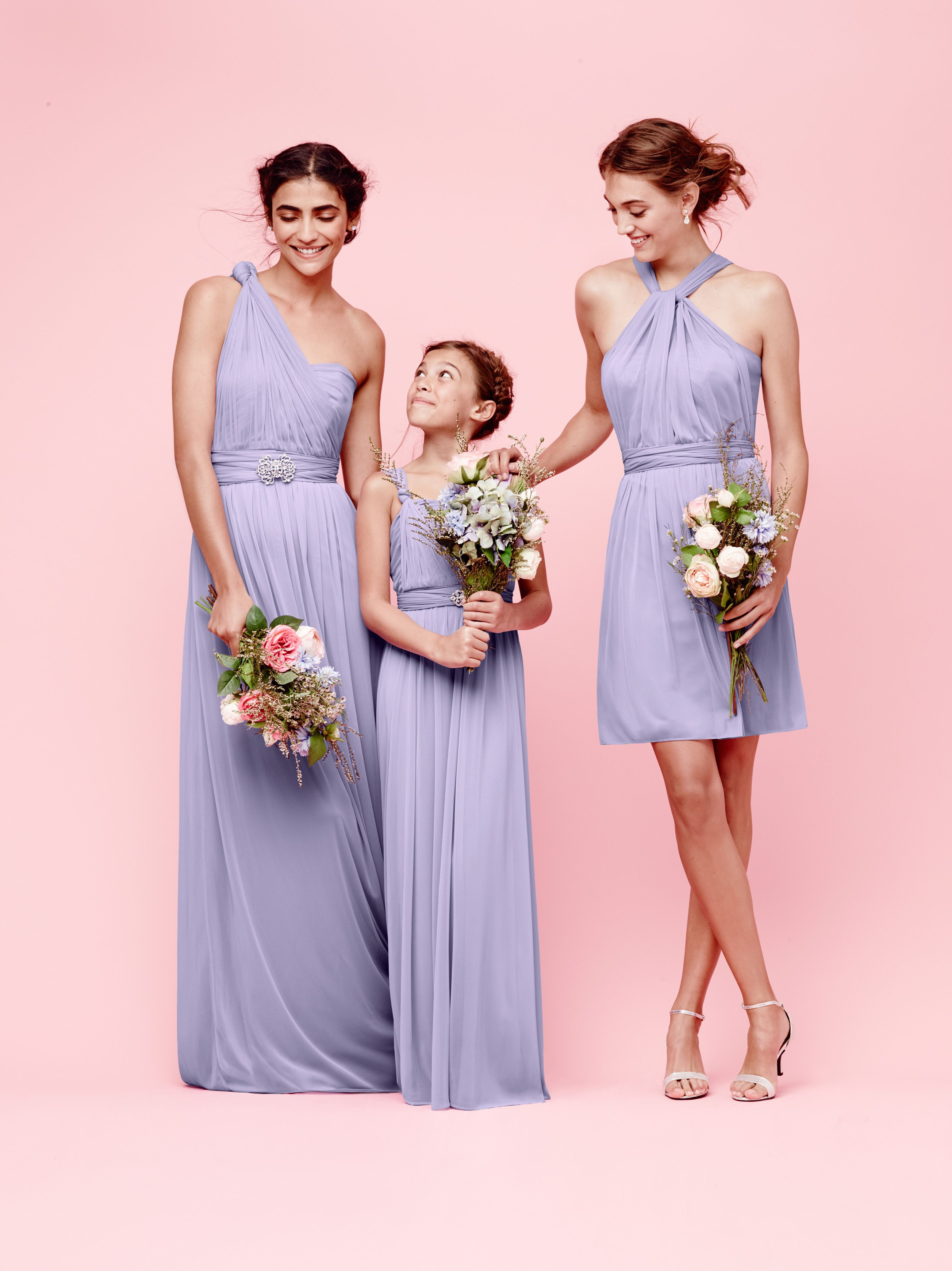 Mix and match your maids using different styles and the same mix and match your maids using different styles and the same color convertible bridesmaid dressesconvertible ombrellifo Images