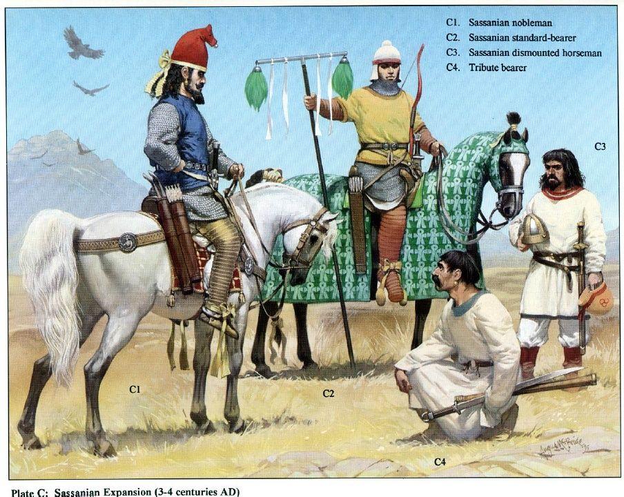 Persian sassanian armies persian warrior sassanid