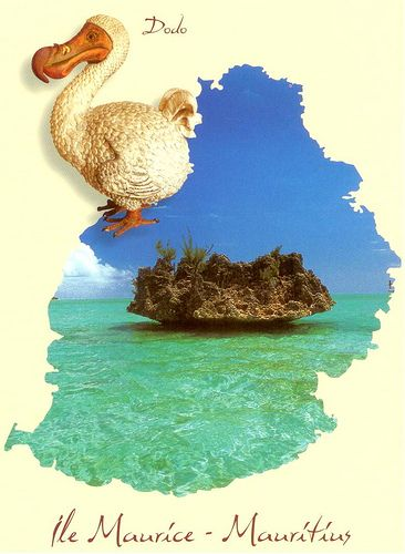 Mauritius Map- once home to the Dodo
