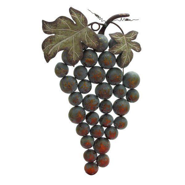 Cluster of Grapes Wall Decor   Need   Pinterest   Wall decor, Walls ...