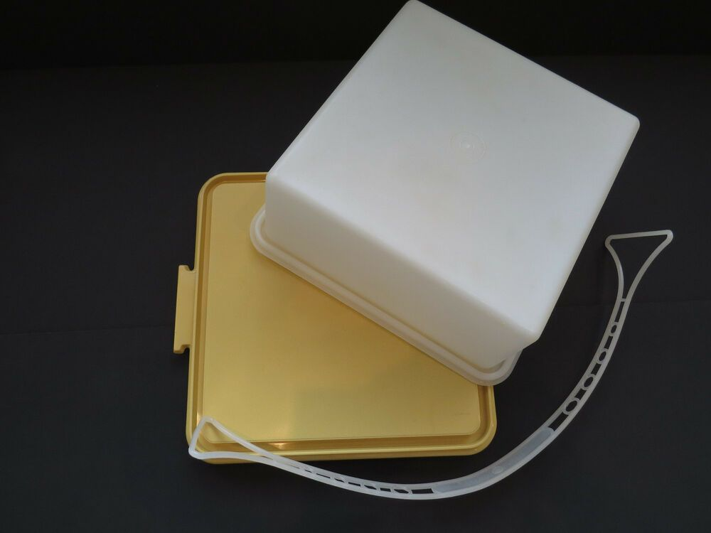 plastic cake carriers/savers with lids