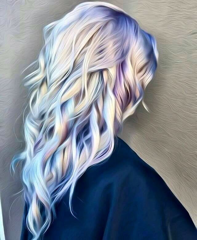 Iridescent Hair 3 Holographic Hair Bold Hair Color Hair
