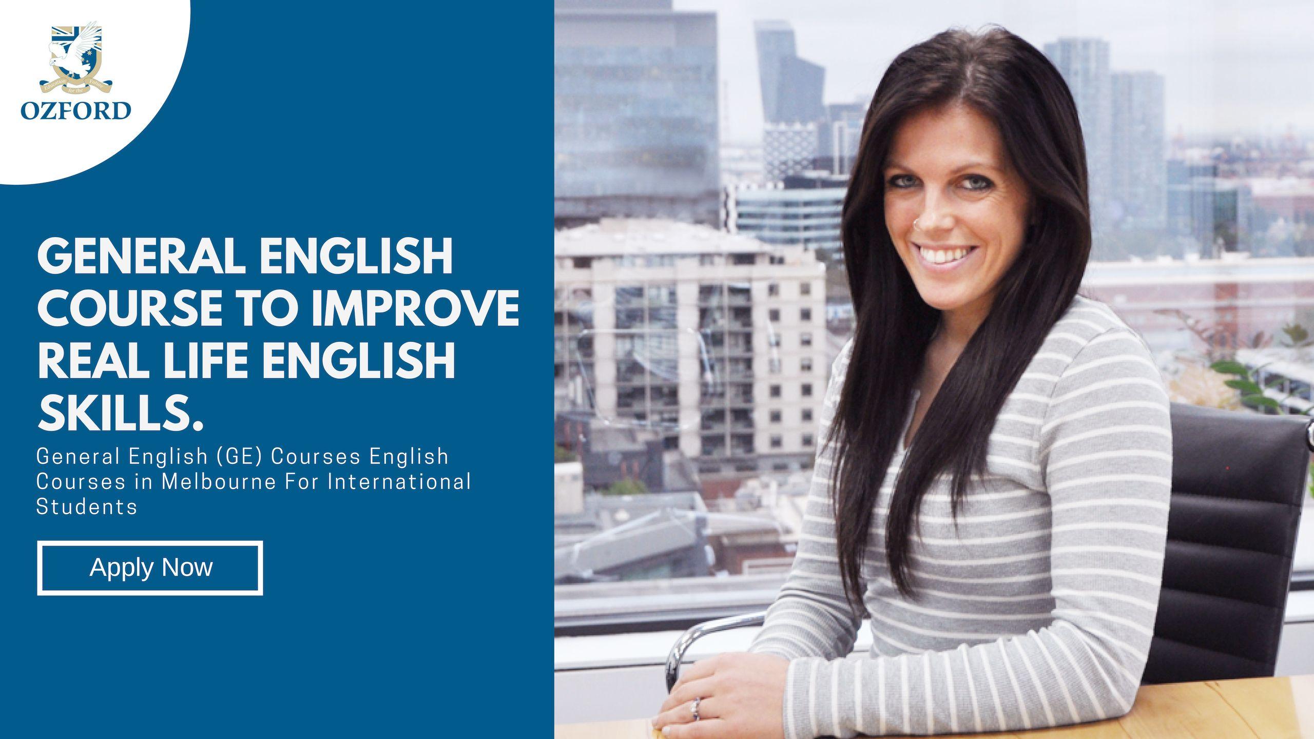 General English Course Melbourne Ozford Australia English Course Real Life English Educational Programs