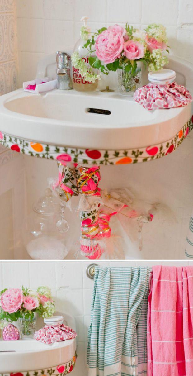 Bathroom diy decor bathroom pinterest ba os for Pinterest decoracion banos